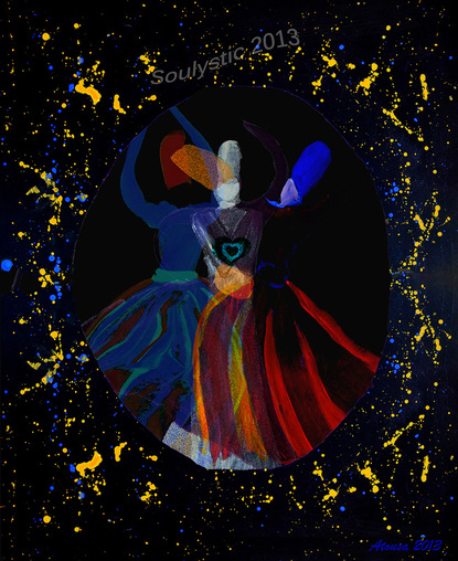 artwork heart song dervish contemprary spiritual healing